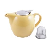 FISSMAN 9202 Заварочный чайник 750 мл с ситечком ЖЕЛТЫЙ